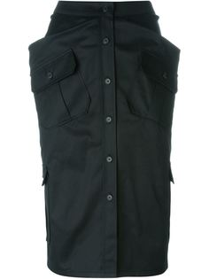 юбка в стиле милитари  Chalayan