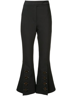 high-rise cropped trousers Ellery