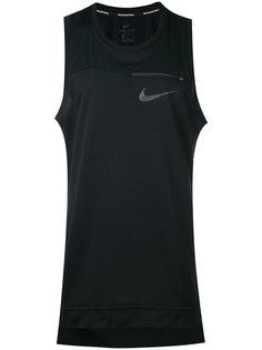 майка с молнией  Nike