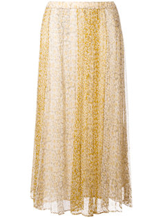 юбка с цветочным узором Mes Demoiselles