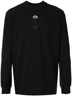 кофта с длинными рукавами и логотипом Adidas Originals By Alexander Wang