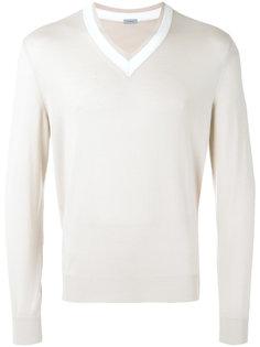 свитер с V-образным вырезом Malo