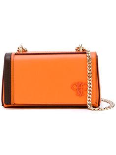 сумка с откидным клапаном на цепочке Emilio Pucci