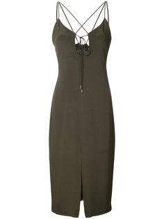 crisscross strap dress Cushnie Et Ochs