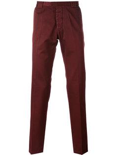 брюки прямого кроя Christian Pellizzari
