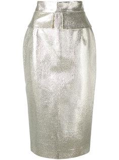 юбка-карандаш цвета металлик  Daizy Shely