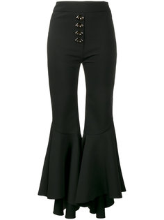 flared cropped trousers  Ellery