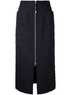 юбка с молнией  Cityshop