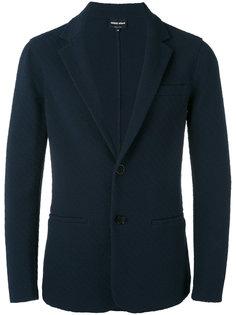 фактурный пиджак Giorgio Armani