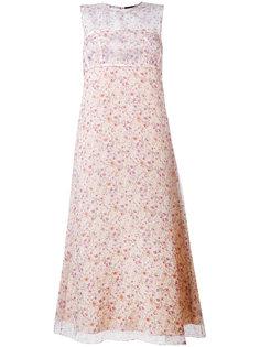 платье с цветочным принтом  Calvin Klein