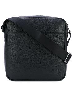 сумка-почтальонка на молнии Emporio Armani