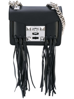 fringed shoulder bag Salar