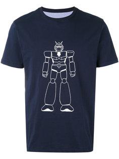 футболка с принтом робота Lc23