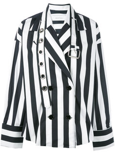 двубортный жакет-рубашка Marquesalmeida