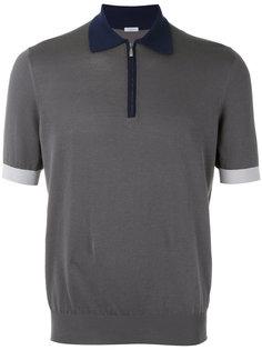 футболка-поло дизайна колор-блок Malo