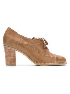 leather shoes Sarah Chofakian