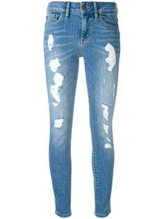джинсы скинни с рваной отделкой Tommy Hilfiger