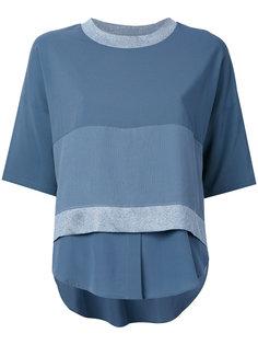 многослойная блузка с короткими рукавами Lorena Antoniazzi