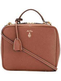 сумка-тоут с принтом-логотипом Mark Cross