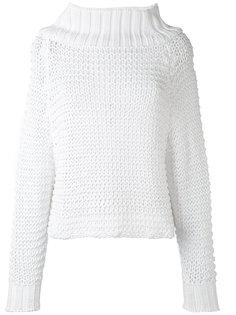 джемпер крупной вязки Calvin Klein Collection