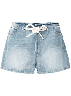 джинсовые шорты Edith  Diesel