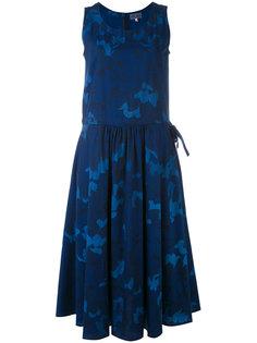 платье с цветочным принтом Blue Blue Japan