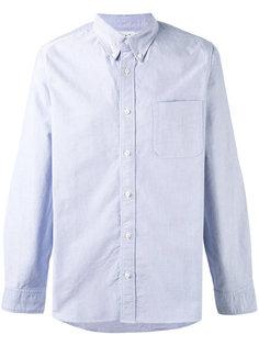рубашка с локтевыми заплатками Visvim