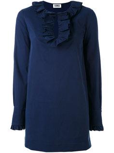блузка с отделкой оборками Sonia By Sonia Rykiel