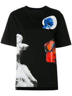 футболка с графическими принтами Proenza Schouler