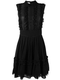 платье с оборками  Ainea