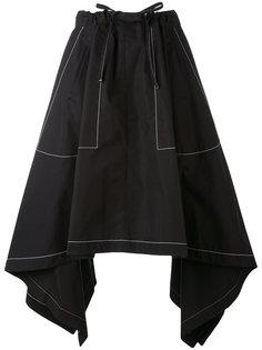 асимметричная юбка с эластичным поясом J.W.Anderson