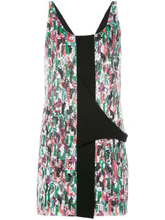 floral lace embroidered dress Balenciaga Vintage