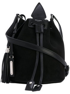 сумка-кисет через плечо Saint Laurent