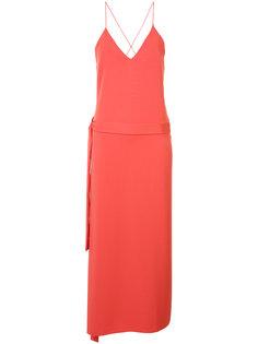 cross back slip dress Alexis