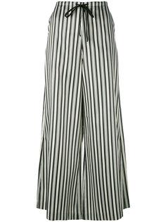 полосатые широкие брюки McQ Alexander McQueen