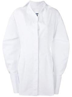 платье-рубашка с округлой линией плеча Jacquemus