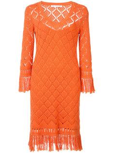 crocheted dress Trina Turk