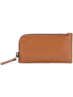slim zip-around wallet Troubadour