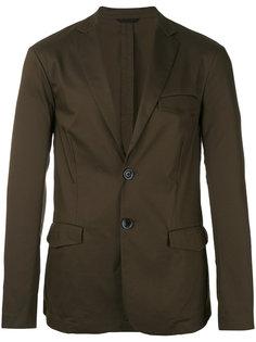 пиджак с застежкой на две пуговицы Emporio Armani