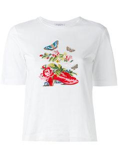 футболка с вышивкой Vivetta