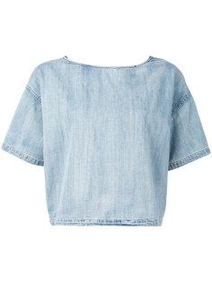 укороченная футболка Diesel