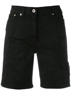 джинсовые шорты до колена Dondup