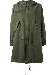 пальто с вышивкой в стиле милитари As65