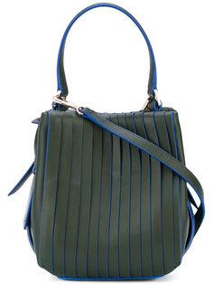 сумка на плечо с панельным дизайном DKNY