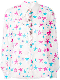 star embroidered shirt Delpozo