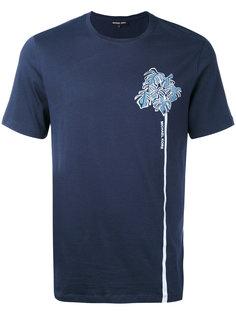 футболка с растительным принтом  Michael Kors