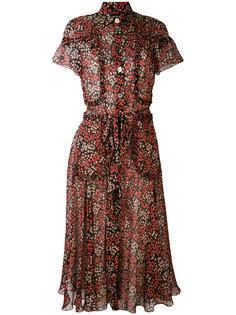 платье с цветочным принтом Rossella Jardini