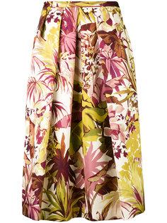 плиссированная юбка с цветочным принтом Eggs