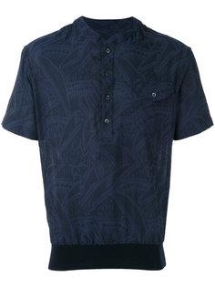 рубашка с абстрактным узором Giorgio Armani
