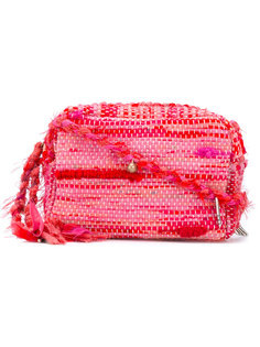 woven charm crossbody bag Ancient Greek Sandals